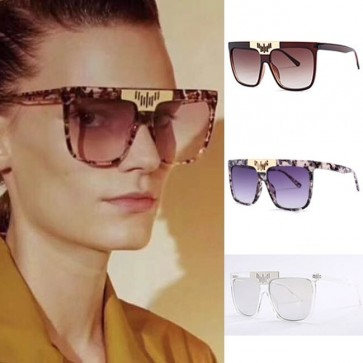 Modern style flat top square sunglasses induce envy