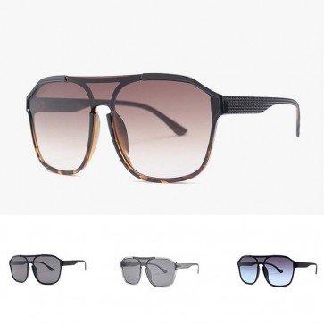 Large super sleek sporty oversized shield sunglasses