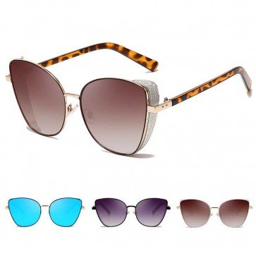 Street & Urban Culture Side Cap Cat Eye Sunglasses