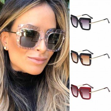 Rugged Stone Surface Sunglasses Cool Square Big Frame