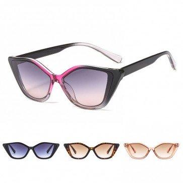 Girls Cat Eye Sunglasses Gradient Lens Eyeglasses