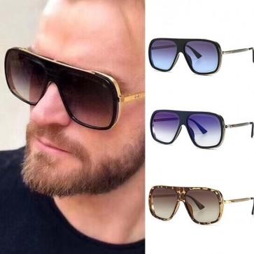 Aviator style sunglasses reference season's palette