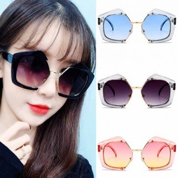 Girls Butterfly Sunglasses Gradient Lens Eyeglasses