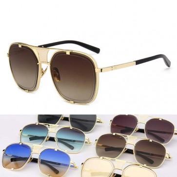 Aviator Sunglasses Summer Beach Oversize Luxury Shades