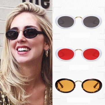 Vintage small size round circle lens fashion shades