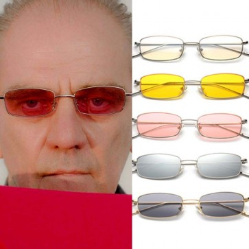 Retro Rectangle Cute Mini Shades Vintage Sunglasses