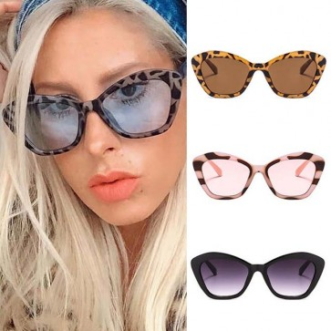 Indie trendy cute vintage cat eye sunglasses