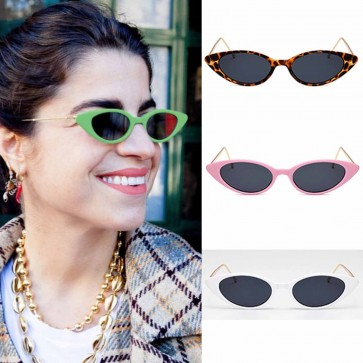Cat Eye Small Candy Color Frame Street Trend Sunglasses
