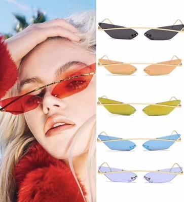 High Pointed Vintage Ladies Fashion Cat Eye Sunglasses