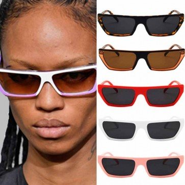 Flat Top Two Tone Cat Eye Sunglasses Ultimate Trend