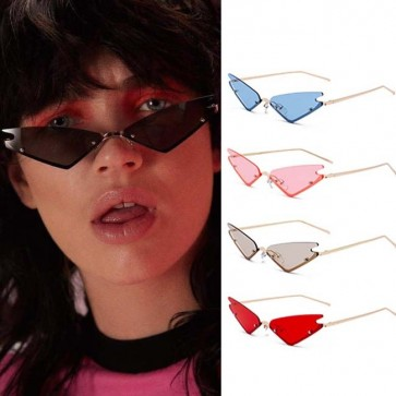 Girls fashion hot tip pointed small cat eye sunnies