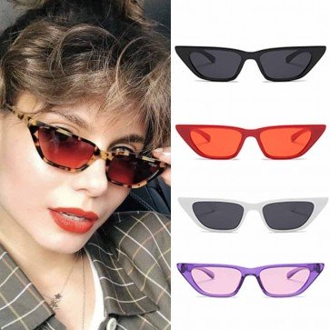 Street & Urban Culture Bold Rim Cat Eye Sunglasses
