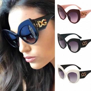 Vibrant Glamour Bling Cat Eye Big Frame Silhouette