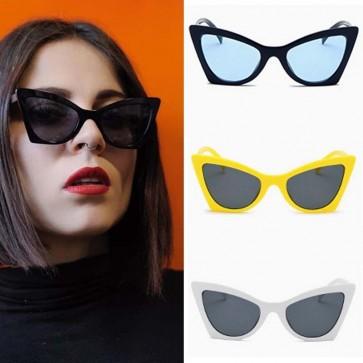 Women Sunglasses High Pointed Modern Cat Eye Shades