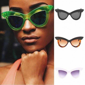 Ladies Oversized Cat Eye Sunglasses Butterfly Sunglass