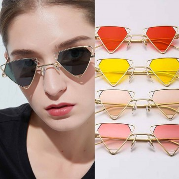 Cute Small Frame Triangle Stylish Steampunk Shades