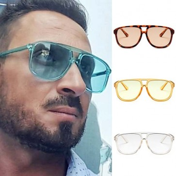 Bright beachy hues modern aviators warm weather escapes