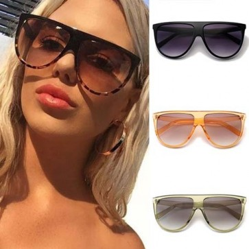 Lady's Fancy Simple Travel Aviators Sunglasses
