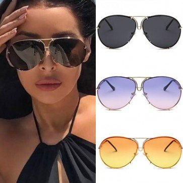 Aviator sunglasses candy appeal contemporary versatility