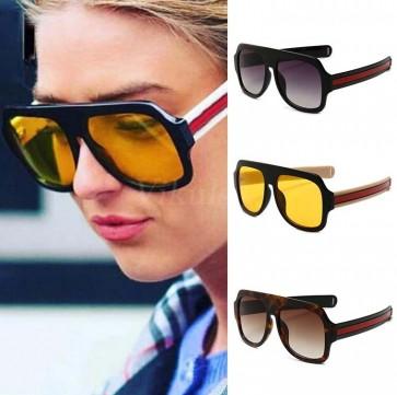 Colorful tear drop aviators editorial sunglasses