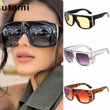 Hipster Side Shields Aviator Frame Unisex Sunglasses