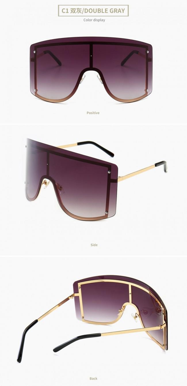 cfd520e69c53e2 One piece sunglasses trendy oversize shield sunnies