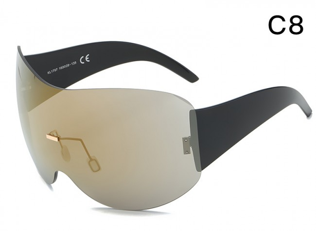 ff91867659e Wraparound Shield Super Oversized Aviator Sunglasses · Zoom · sunglasses  polarized. shopping online sunglasses