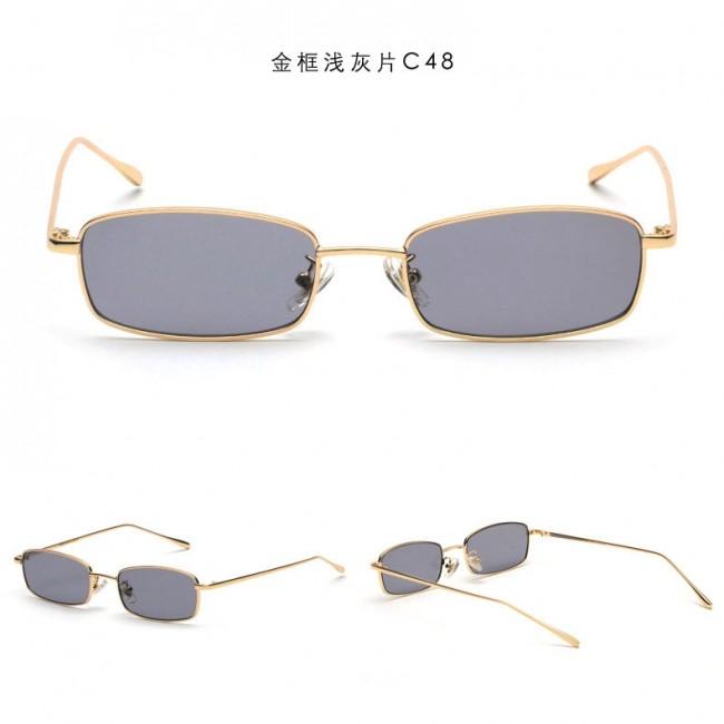 44ed4115ee Retro Rectangle Cute Mini Shades Vintage Sunglasses