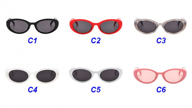 oval sunglassses