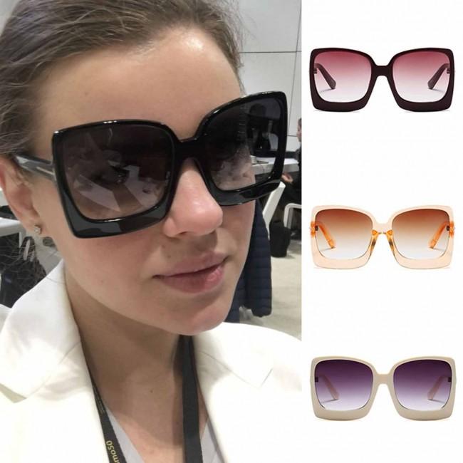 ac2c8351ba Trendy fashionable women's square oversize sunglasses