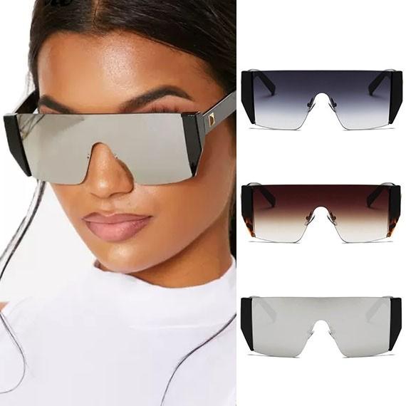 02611ef2a Oversized modern big police style aviator sunglasses