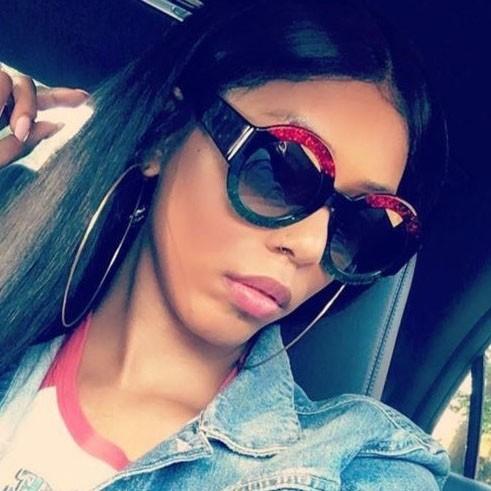 shiny sunglasses
