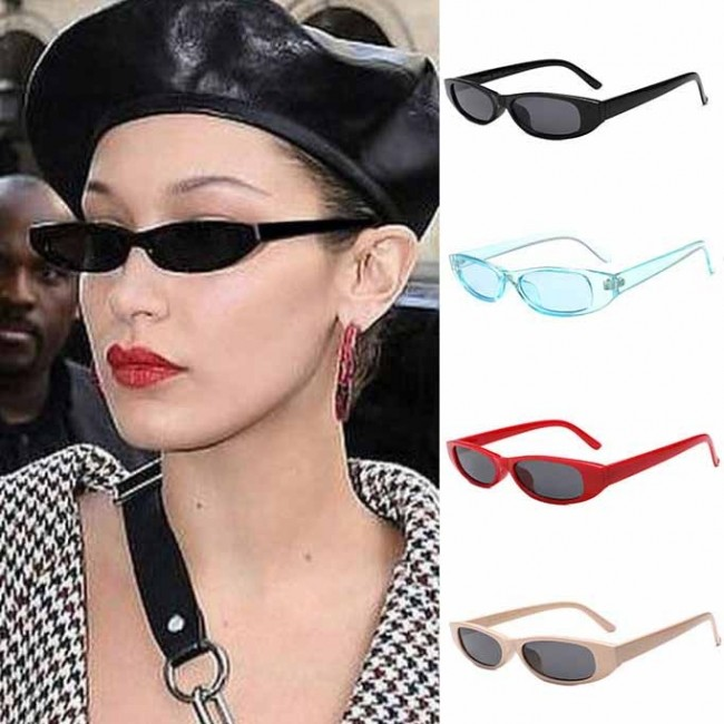 957ba60639 Small Cat Eye Sunglasses Women Retro Vintage Eyewear