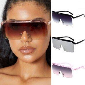 One Piece Sunny Shield Goggle Visor Sunglasses