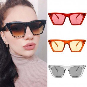 Pointed rim cat eye comfy fit girls shades