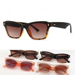 Retro mod super trendy women fashion cat eye sunglasses