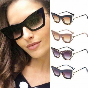Pointy Cat Eye Sunglasses Vintage Sexy Eyewear Shades