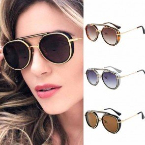 Steampunk glasses Vintage Sun Glasses Female
