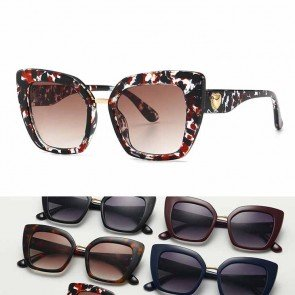 Cat Eye Sunglasses Shades Vogue Female Acetate Frame