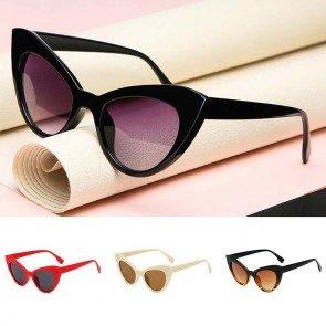 Vintage ladies fashion cute sexy cat eye sunglasses