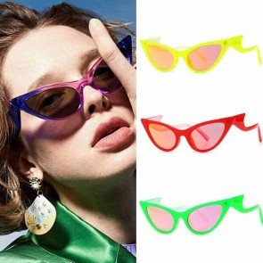 Acetate frame costume accessories cat-eye sunglasses