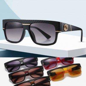 Flat Top D Frame Acetate Sunglasses Rectangle Aviators