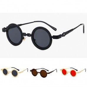 Retro Gothic Sunglasses Unisex Steampunk Round Shape
