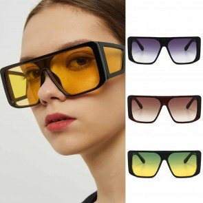 Mask Shield Steam Punk Oversize Side Shield Sunglasses