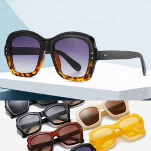Butterfly Sunglasses Cute Geometric Acetate Frame