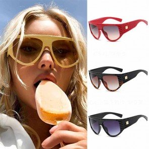 Shadow D-frame Aviator Sunglasses