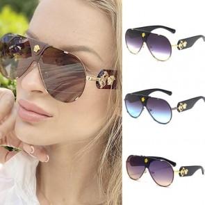 Kim K Celebrity Large Aviator Style Sunglasses