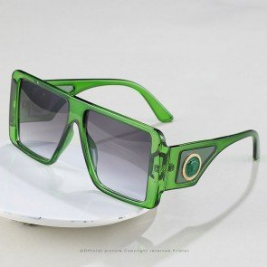 Square Sunglasses D Frame Luxury Flat Top Shades