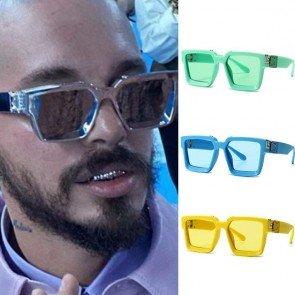 Modern large square sunglasses oversized frame