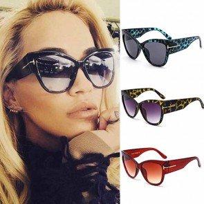 Vintage Looking Big Frame Oversized Cat Eye Sunglasses